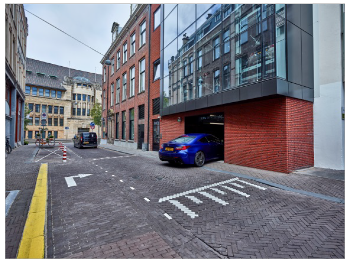Le futur en ville - un stationnement confortable et économe en place dans la ville dense de demain